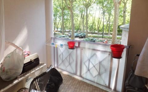 Toulouse, St Cyprien, appartement 1 pièce, 26m², balcon, 105 000€ – Sous offre