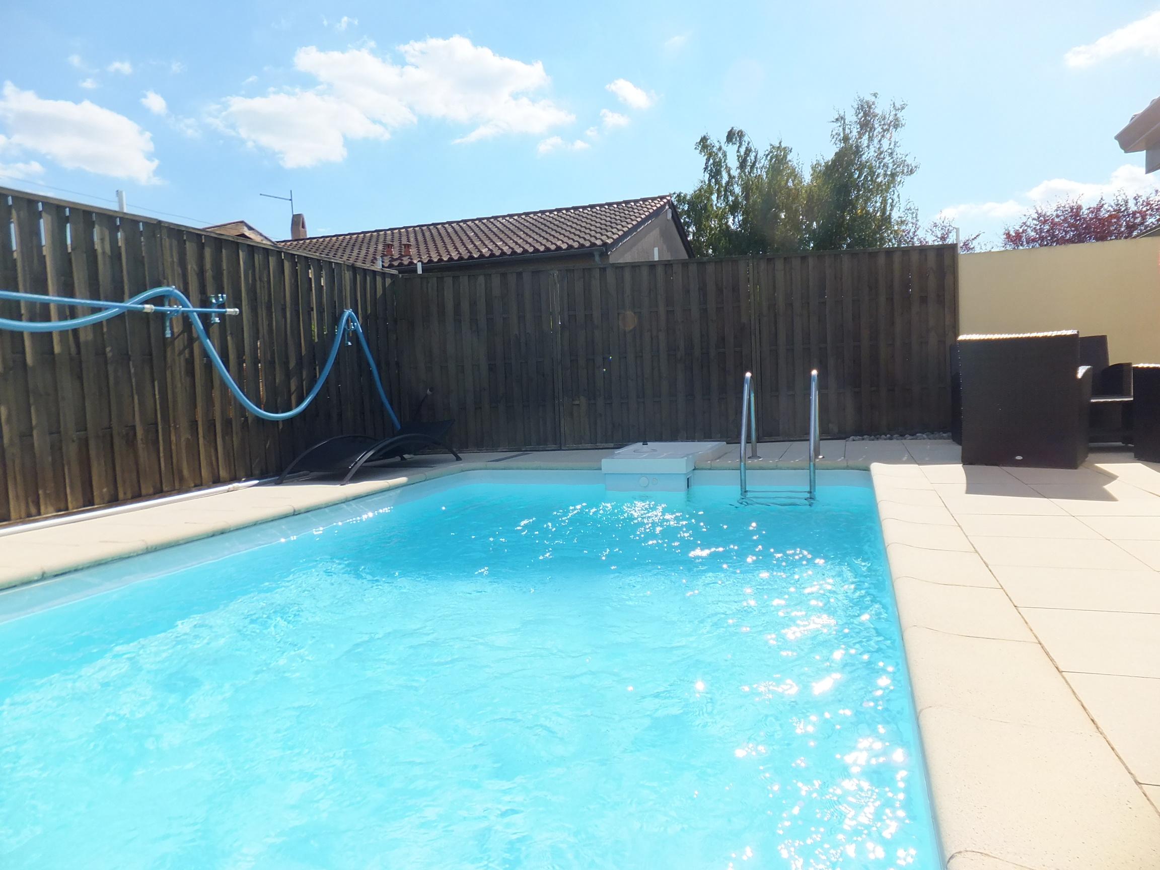 Toulouse chapitre maison t4 de plain pied avec piscine for Piscine nakache toulouse